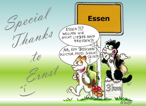 Essen Thanks to ErnstHP